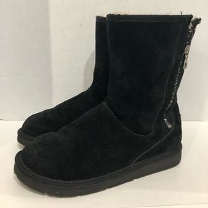 Ugg Mayfaire Black Suede Boots